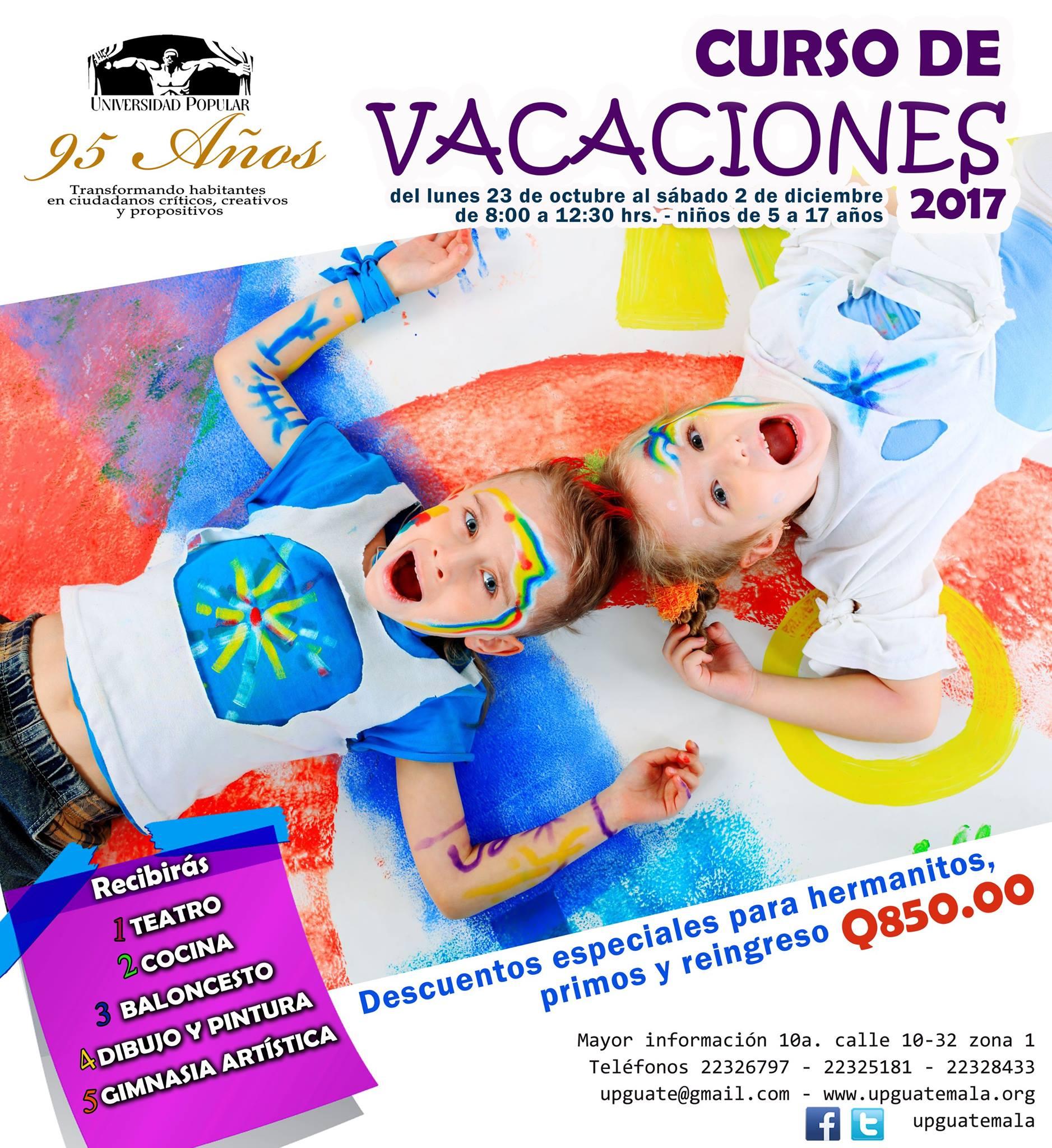 Cursos de vacaciones para ni os en ciudad de guatemala for Clases de piscina para ninos