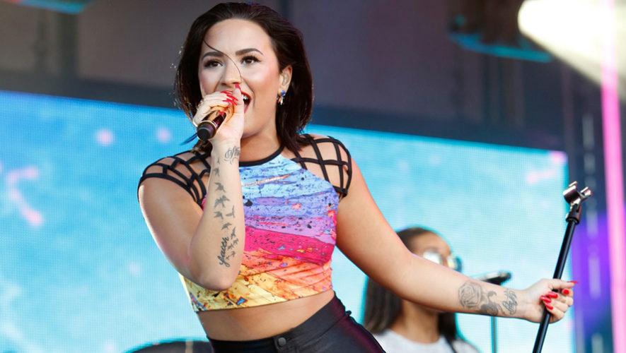 Demi Lovato envía un mensaje de agradecimiento a los guatemaltecos