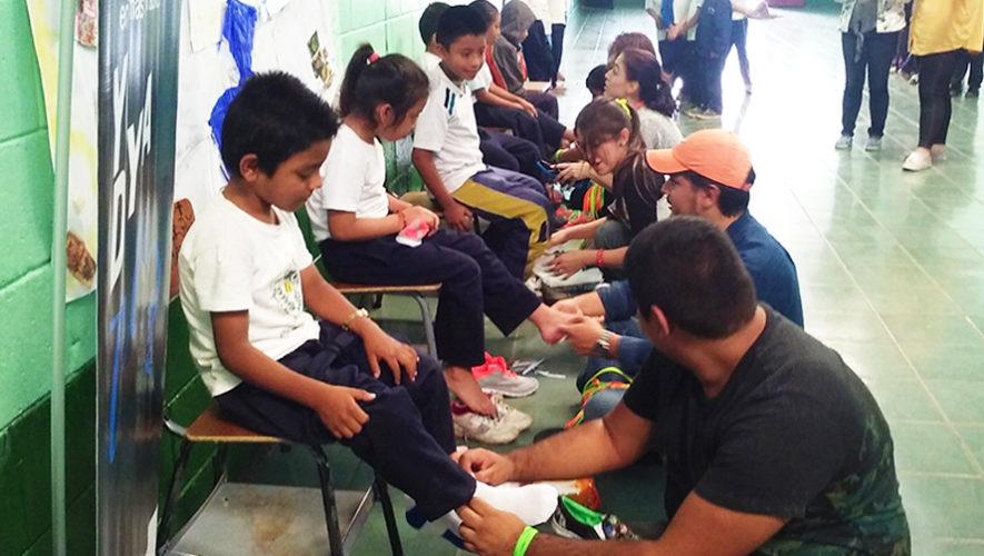 Dona tus zapatos en buen estado para niños de áreas rurales de Guatemala