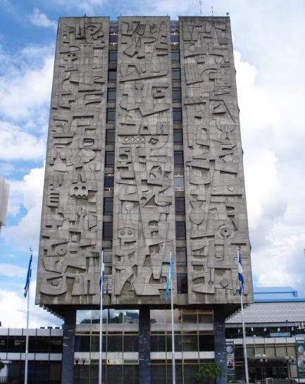 El Banco de Guatemala es un icono de la Arquitectura Brutalista en Latinoamérica