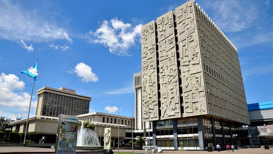 El banco de guatemala es un cono de la arquitectura Arquitectura brutalista