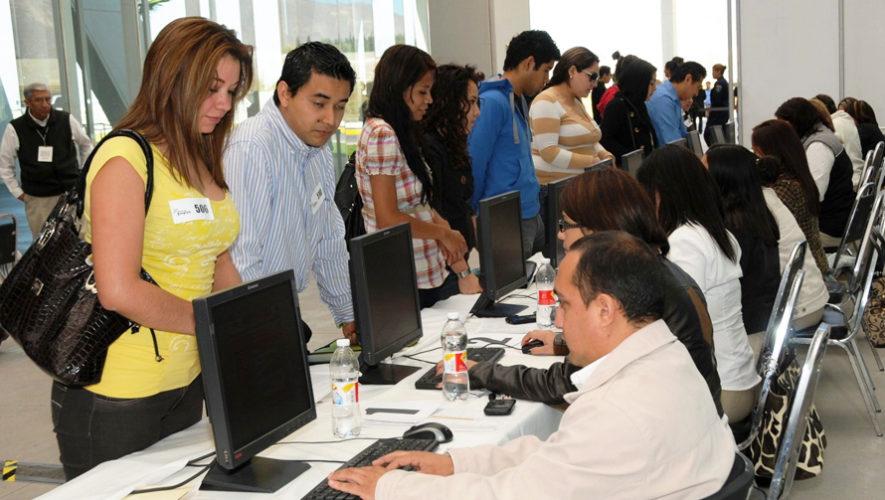 Feria de Empleo para Call Center en la Ciudad de Guatemala, octubre 2017