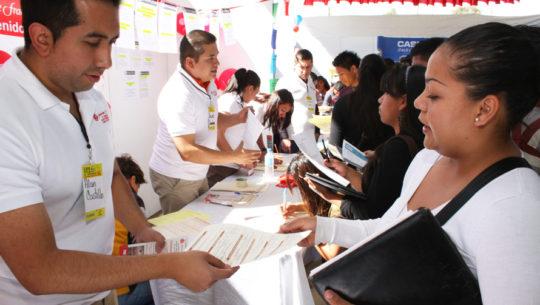 Feria del Empleo 2017 en la Universidad Mariano Gálvez, Antigua Guatemala