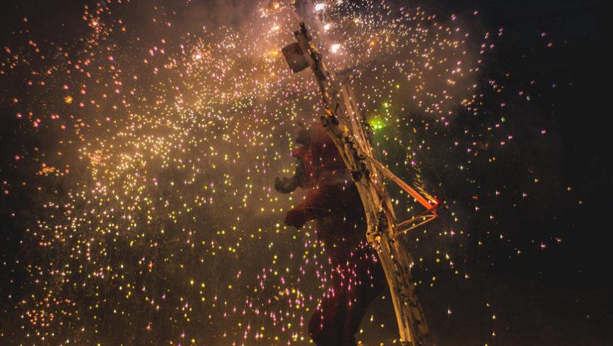 Foto de la tradicional quema del diablo es publicada en National Geographic