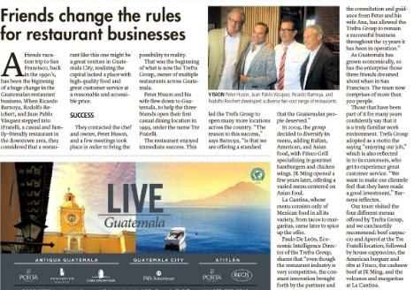 Guatemaltecos emprendedores son destacados en el Miami Herald
