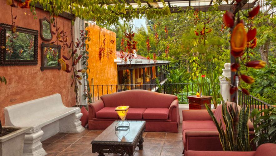 Hotel las farolas instalaciones rodeadas de naturaleza hoteles rom nticos en antigua guatemala - Farolas de jardin ...
