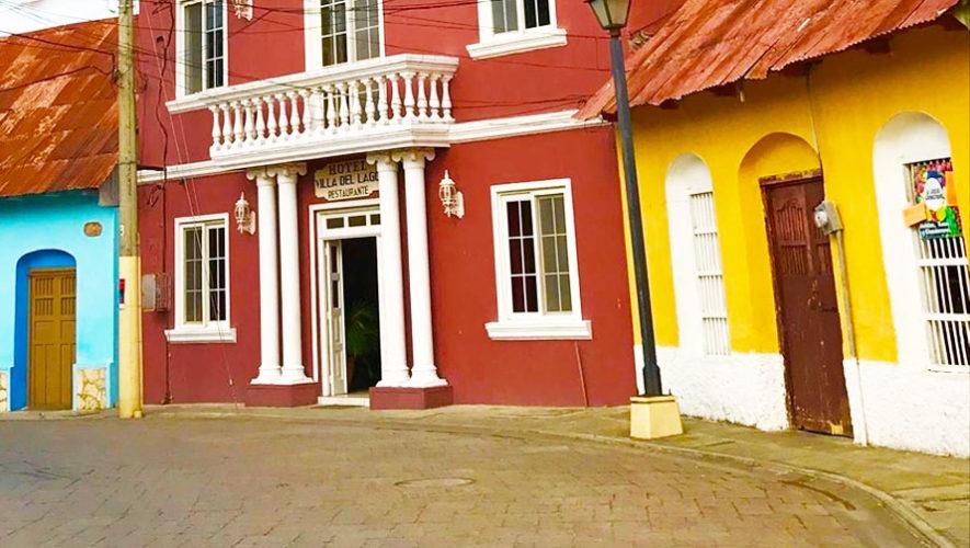 Hotel villa del lago isla de flores hoteles en la isla for Hotel villa del lago