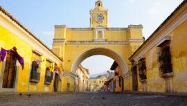 Inician la restauración del Arco de Santa Catalina en Antigua Guatemala