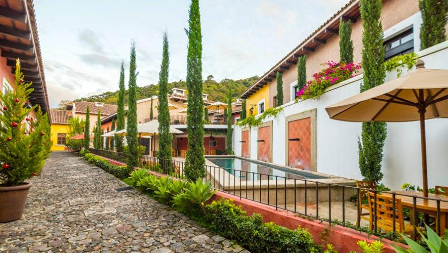 Luxury villas antigua guatemala casas en alquiler en for Alquiler de casa con piscina en sevilla fin de semana