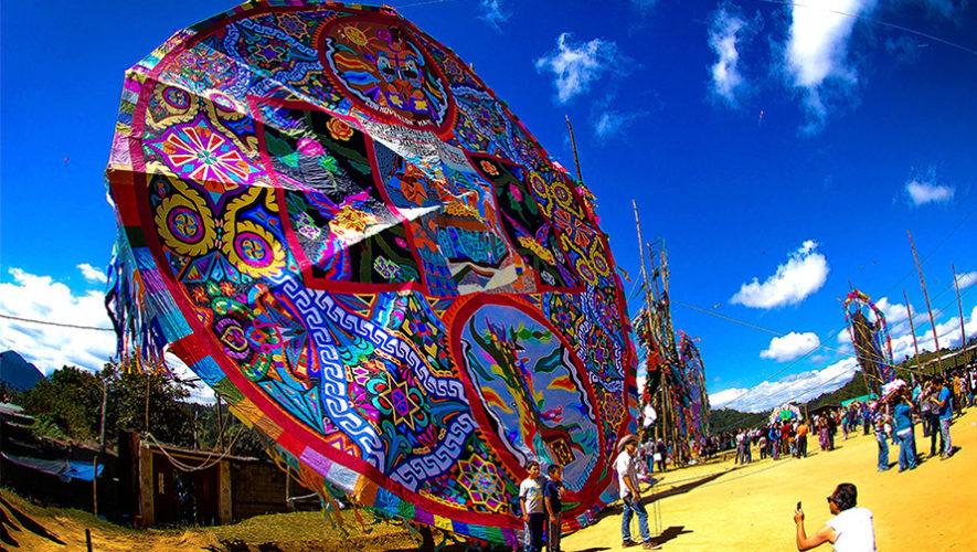 National Geographic India destaca los barriletes gigantes de Sumpango