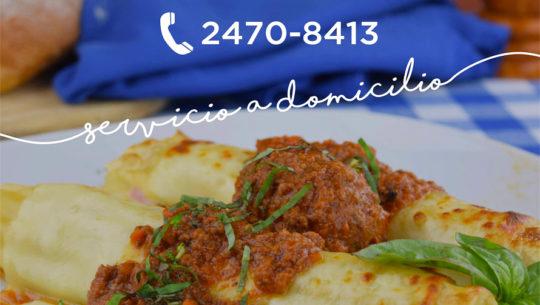 Restaurantes con servicio a domicilio en guatemala for Restaurantes de comida italiana