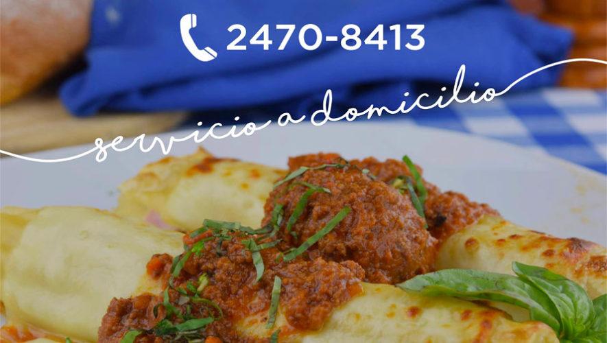 Tre fratelli comida italiana a la puerta de tu casa for Restaurantes de comida italiana