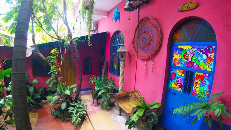 hoteles coloridos en Guatemala.