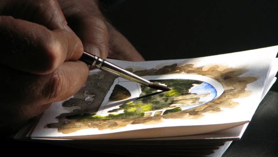 Curso de pintura con acuarela nivel intermedio | Octubre 2017