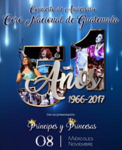 (Foto: Coro Nacional de Guatemala, Patrimonio Cultural de la Nación)