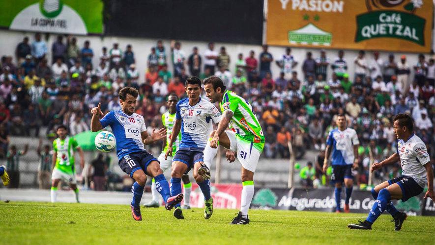 Partido de Antigua y Suchitepéquez por el Torneo Apertura | Octubre 2017