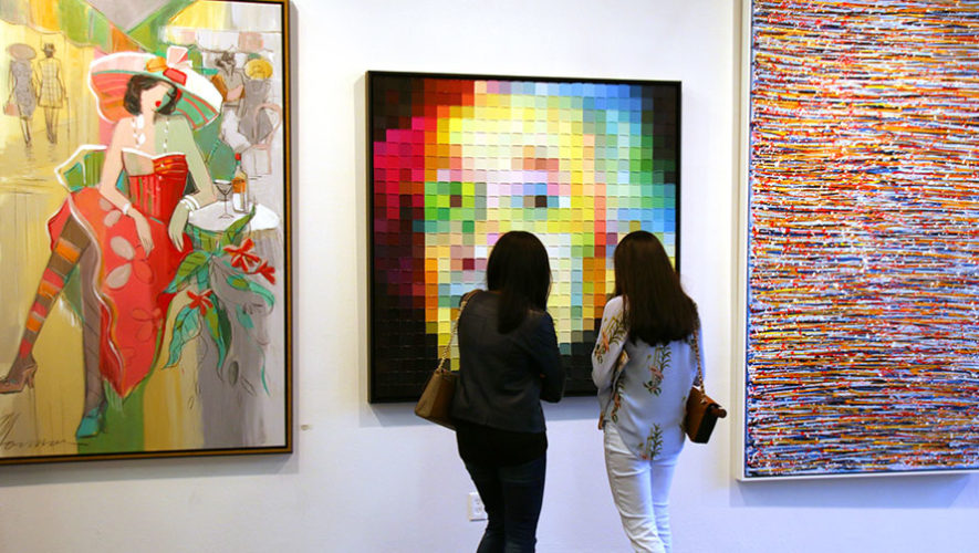 Exposición de arte Trazos de Luz | Octubre 2017