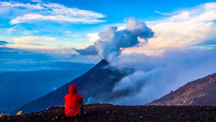 Ascenso y Campamento al volcán Acatenango | Octubre 2017