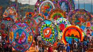 Viaje para ver los barriletes gigantes de Sumpango, Sacatepéquez   Noviembre 2017
