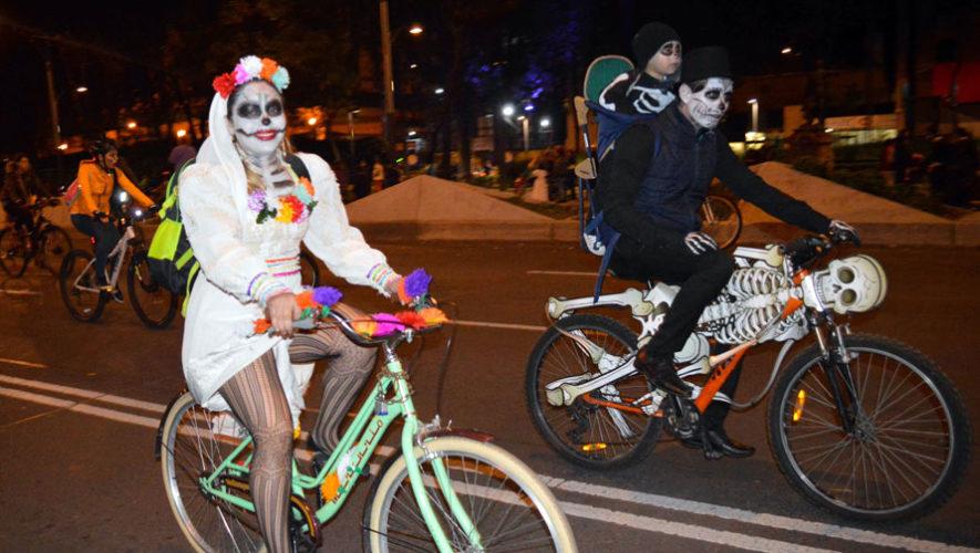 Recorrido en bicicleta por Halloween | Octubre 2017