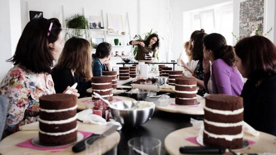 Taller de repostería, Naked Cake | Octubre 2017