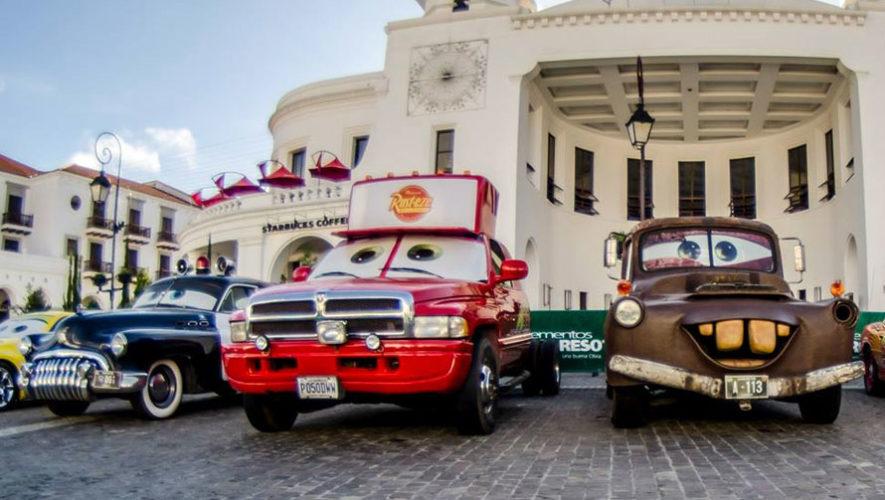 Exposición de carros de la película Cars en Santa Clara | Octubre 2017