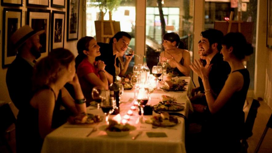 Cena clandestina de comida mesoamericana | Octubre 2017