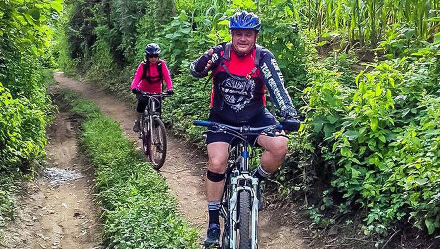 Colazo de montaña en bicicleta en la Antigua | Octubre 2017