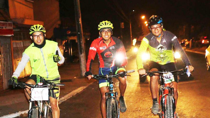 Colazo nocturno en bicicleta para Principiantes | Octubre 2017
