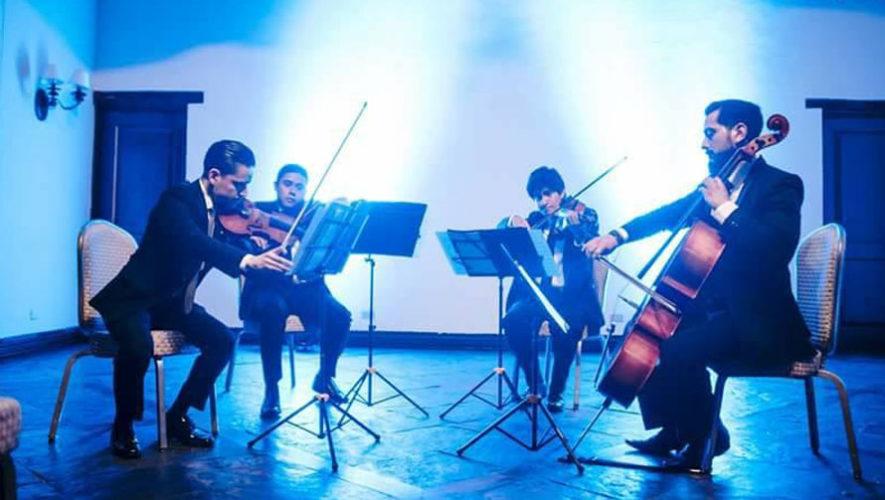 Concierto de Cuarteto Asturias interpretando a Mozart | Octubre 2017