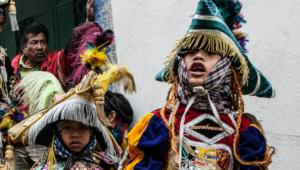 Presentación de danzas folclóricas en Antigua Guatemala | Octubre 2017