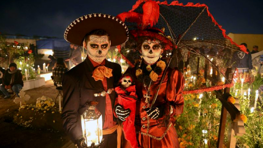 Día de muertos en Embajada de México   Noviembre 2017