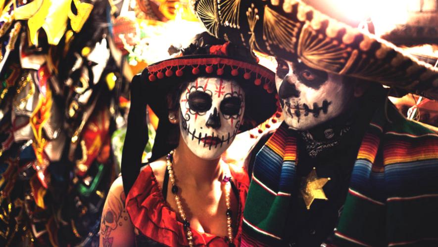Fiesta mexicana de Día de Muertos   Octubre 2017