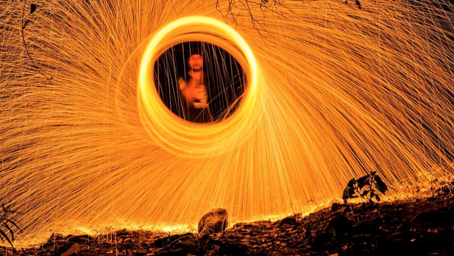 Curso de fotografía nocturna con fuego   Octubre 2017