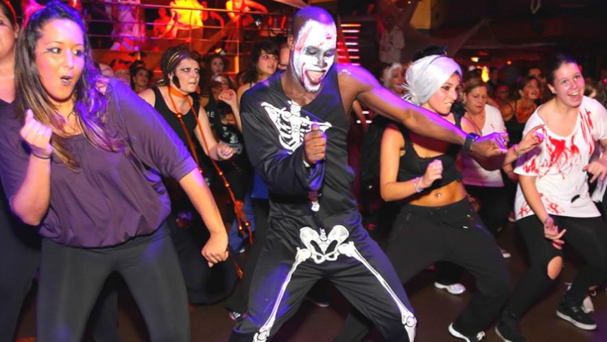 "Fiesta ""Halloween Fit"" en Alive Gimnasio Boutique   Octubre 2017"