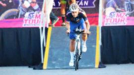 Julio Padilla es el ciclista más rápido de la Vuelta a Yucatán 2017 en México