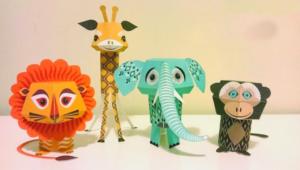 Taller para hacer muñecos de papel | Noviembre 2017