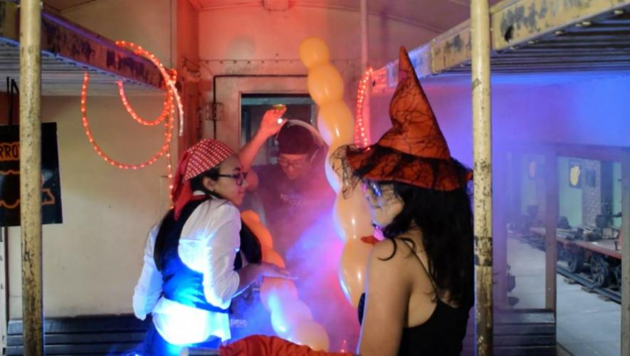Fiesta de Halloween en Museo del Ferrocarril | Octubre 2017