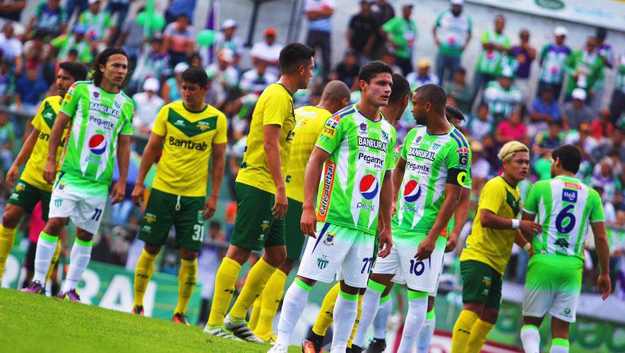 Partido de Antigua y Petapa por el Torneo Apertura | Octubre 2017