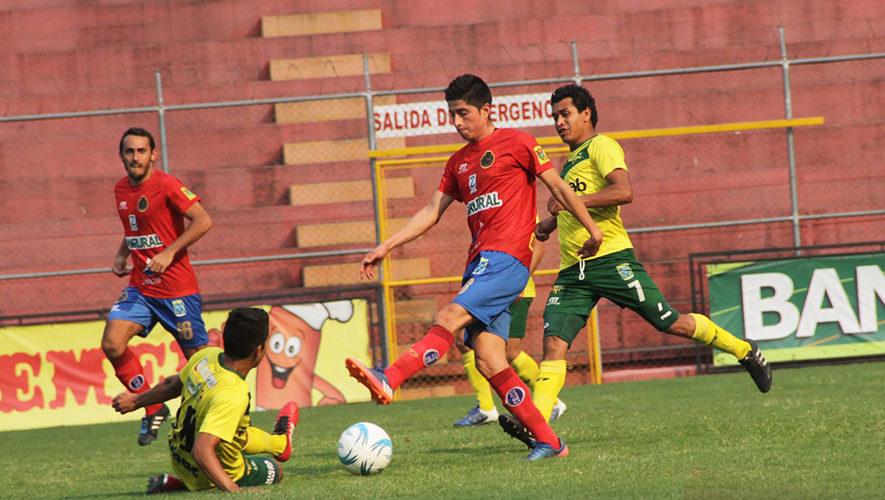 Partido de Municipal y Petapa por el Torneo Apertura | Octubre 2017