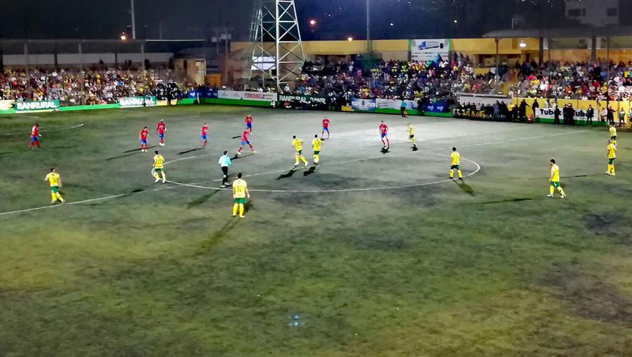 Partido de Petapa y Marquense por el Torneo Apertura | Octubre 2017