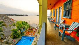 Hoteles en la Isla de Flores Petén, Guatemala