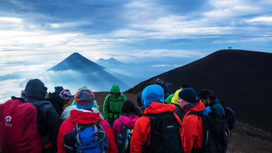 Trilogía: Escala los volcanes de Agua, Fuego y Acatenango   Octubre 2017