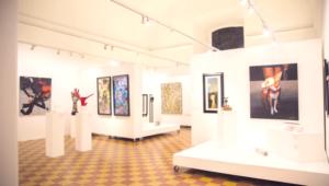 """Visita guiada a exposición """"Momentos""""   Octubre 2017"""