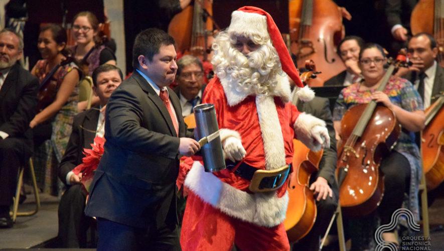 Conciertos navideños de la Orquesta Sinfónica y el Coro Nacional de Guatemala