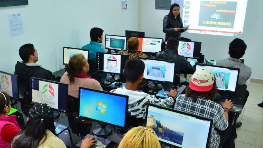 Cursos de vacaciones gratuitos en las Bibliotecas Virtuales de Guatemala