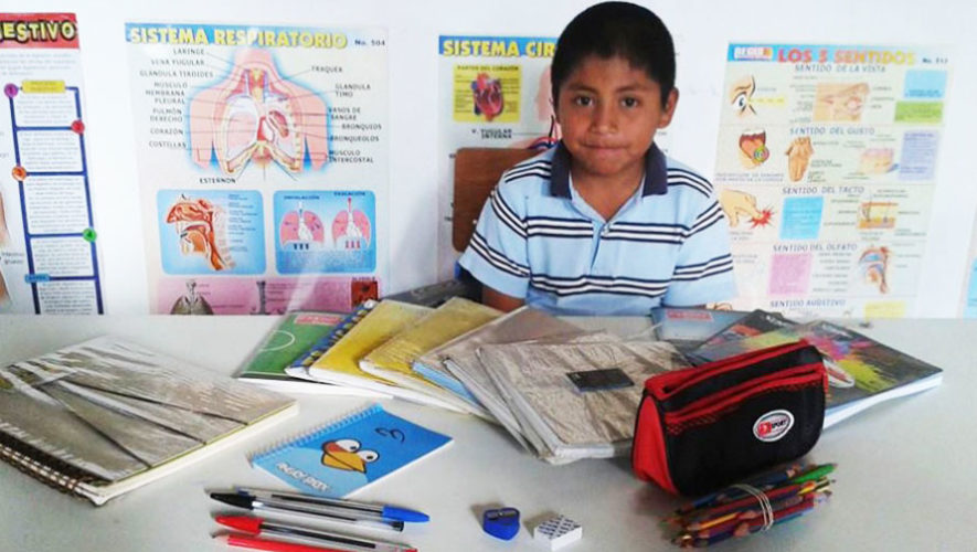 Dona útiles escolares nuevos o usados a niños de escasos recursos 2017