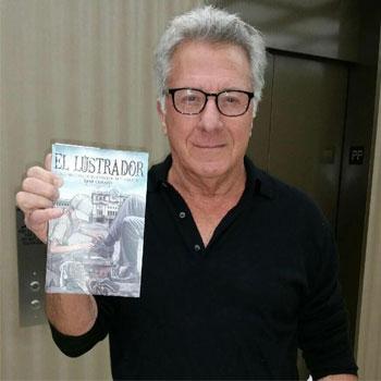 Dustin Hoffman El Lustrador libro de autor guatemalteco que es leído por famosos