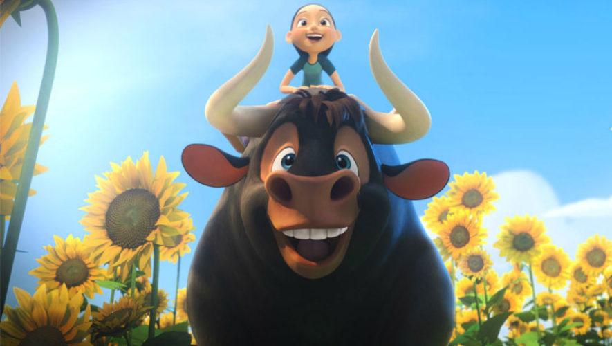 Ely Recinos, es la voz de uno de los personajes de Olé, el viaje de Ferdinand