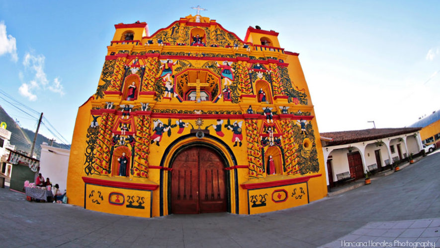 Foto de la Iglesia de San Andrés Xecul fue publicada en National Geographic